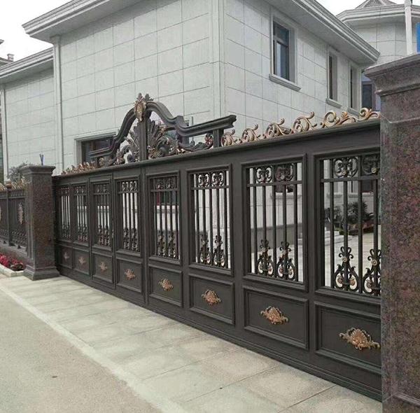 铝艺庭院护栏